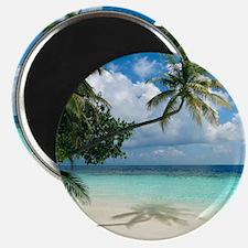 Tropical beach - Magnet