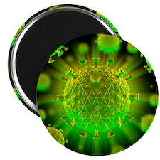 HIV particles - Magnet