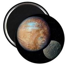 Pluto and Charon - Magnet
