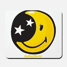Moon Smiley Mousepad