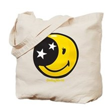 Moon Smiley Tote Bag