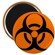 Biohazard sign - Magnet