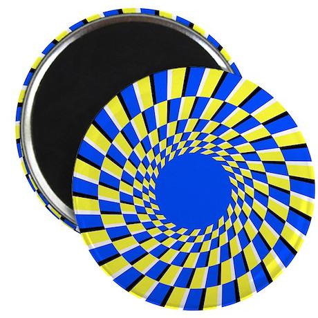 Peripheral drift illusion - Magnet