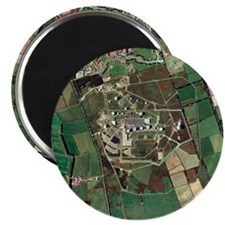 Menwith Hill spy base, aerial image - Magnet
