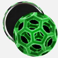 Buckminsterfullerene molecule - 2.25