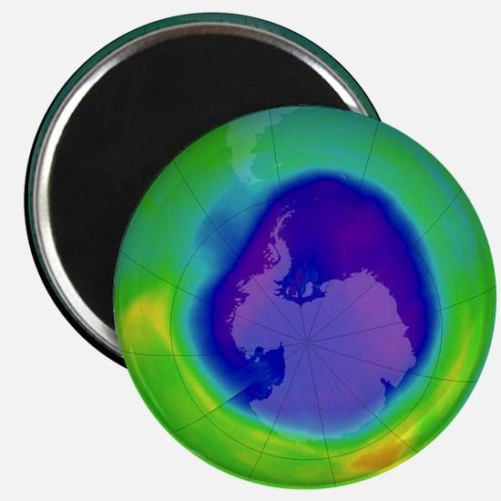 Antarctic ozone hole, 2007 - 2.25