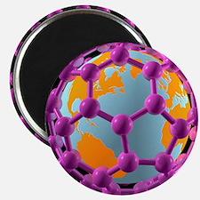Buckminsterfullerene Earth, artwork - 2.25