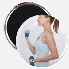 Woman lifting weights - 2.25