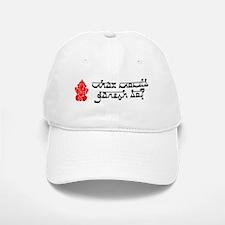 What Would Ganesh Do? Baseball Baseball Cap