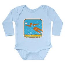 Beachvolleyball (used) Long Sleeve Infant Bodysuit