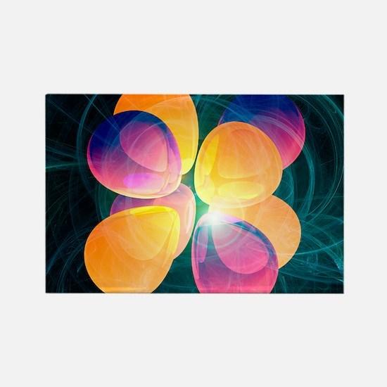 4f2 electron orbital - Rectangle Magnet