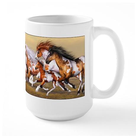 Wild Horses Herd Mugs