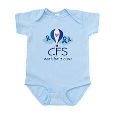 Chronic Fatigue Syndrome (balloon) Infant Bodysuit