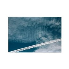 Aeroplane contrail - Rectangle Magnet