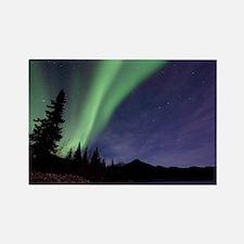Aurora borealis - Rectangle Magnet