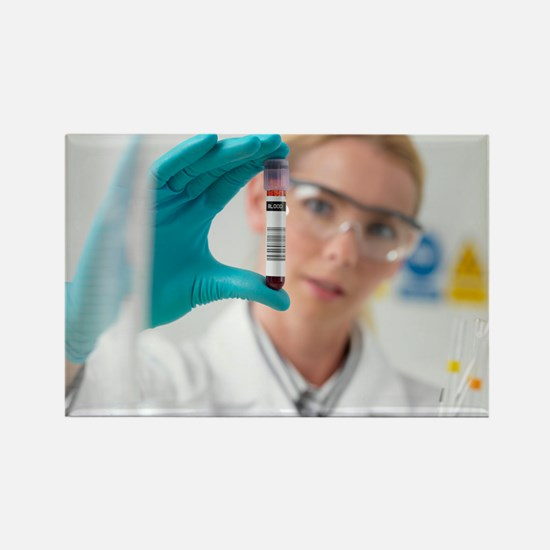Blood research - Rectangle Magnet