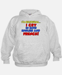 Bilinqual Cry French English Hoodie