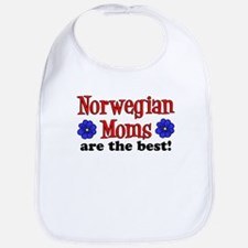 Norwegian Moms Are Best Bib