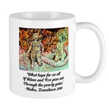 ADAM AND EVE ON JUDGEMENT DAY Mug