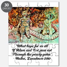 ADAM AND EVE ON JUDGEMENT DAY Puzzle