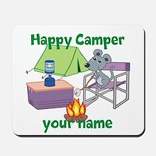 Custom Happy Camper Mouse Mousepad