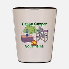 Custom Happy Camper Mouse Shot Glass