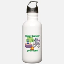 Custom Happy Camper Mouse Water Bottle