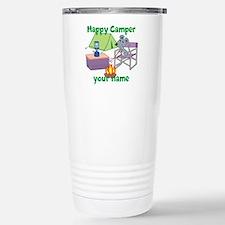 Custom Happy Camper Mouse Travel Mug