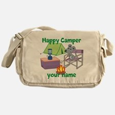 Custom Happy Camper Mouse Messenger Bag