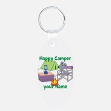 Custom Happy Camper Mouse Keychains