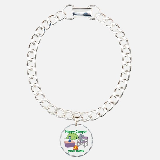 Custom Happy Camper Mouse Bracelet