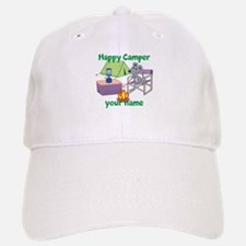 Custom Happy Camper Mouse Baseball Baseball Baseball Cap