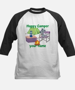 Custom Happy Camper Mouse Baseball Jersey