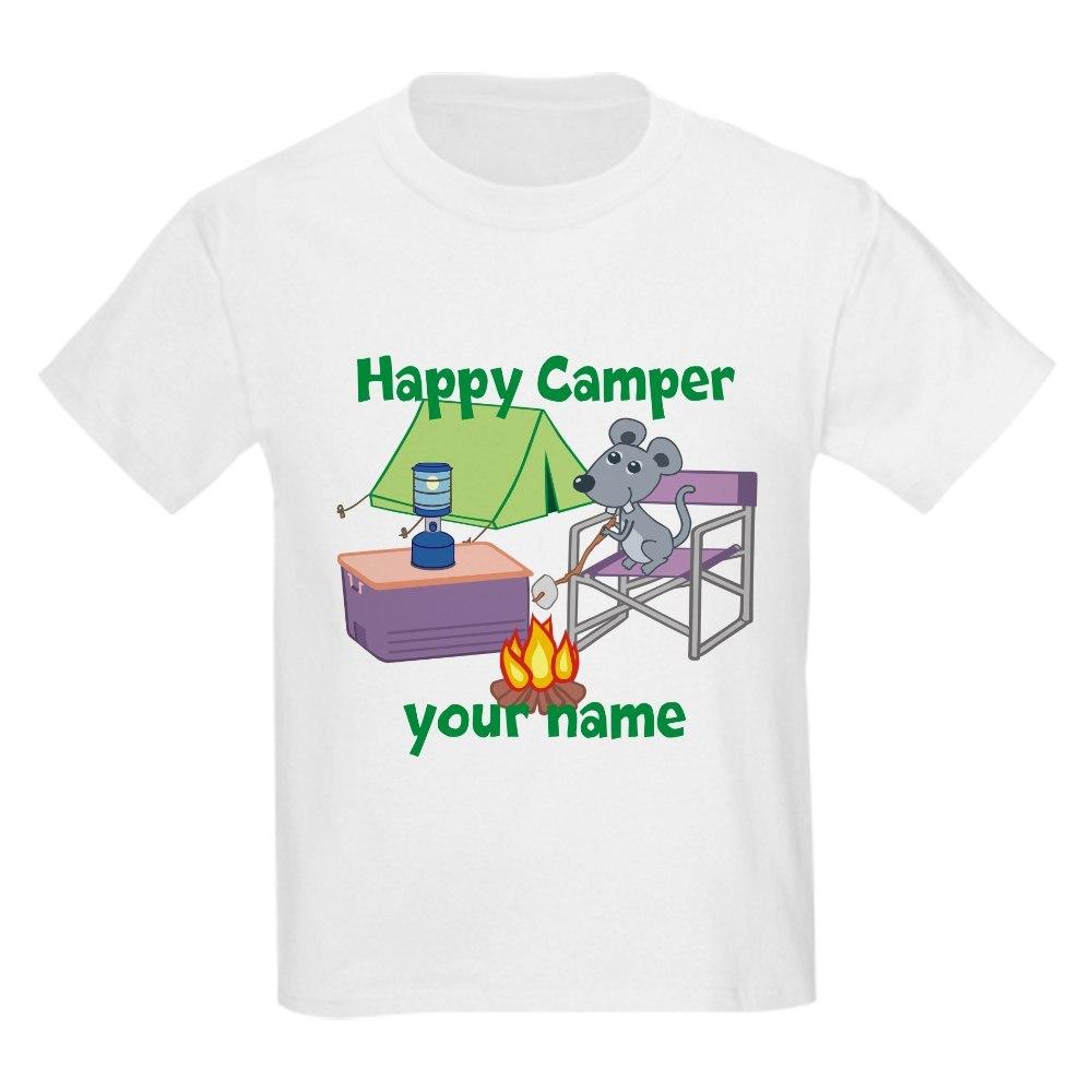 CafePress Custom Happy Camper Mouse T-Shirt