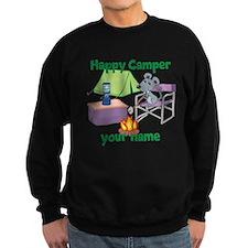Custom Happy Camper Mouse Sweatshirt