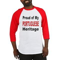 Proud Portuguese Heritage Baseball Jersey
