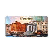 San Simeone Piccolo (Venice Aluminum License Plate