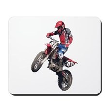 Red Dirt Bike Mousepad