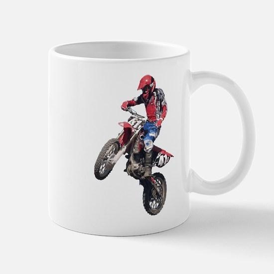 Red Dirt Bike Mug