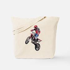 Red Dirt Bike Tote Bag