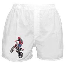 Red Dirt Bike Boxer Shorts