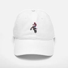 Red Dirt Bike Baseball Baseball Cap