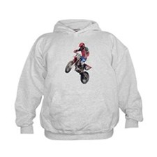 Red Dirt Bike Hoodie