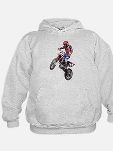 Red Dirt Bike Hoodie