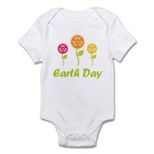 Earth Day 2013 Flowers Infant Bodysuit
