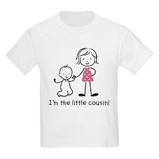 Little Cousin - Stick Figures T-Shirt