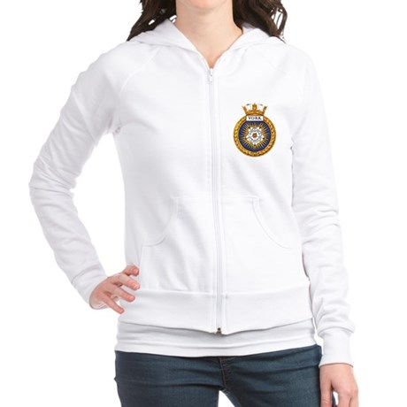 HMCS York Fitted Hoodie