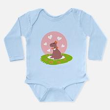 Capybara in Love Body Suit