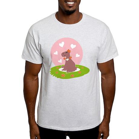 Capybara in Love T-Shirt