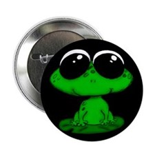 """Froggie 2.25"""" Button (10 pack)"""